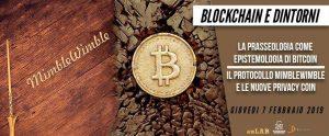 07-02-2019 Blockchain e Dintorni