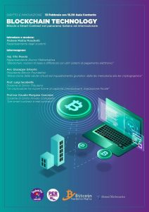 13-02-2019 Blockchain Technology Locandina